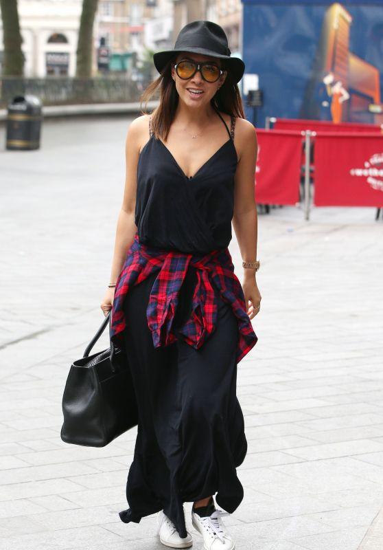 Myleene Klass in Casual Outfit - London 06/01/2018