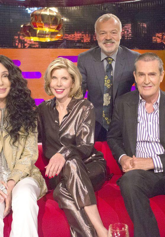 Natalie Dormer, Cher, Christine Baranski, Rupert Everett and Graham Norton - The Graham Norton Show in London 06/21/2018