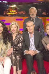 Natalie Dormer, Cher, Christine Baranski, Rupert Everett and Graham Norton - The Graham Norton Show in London 06/21/2018