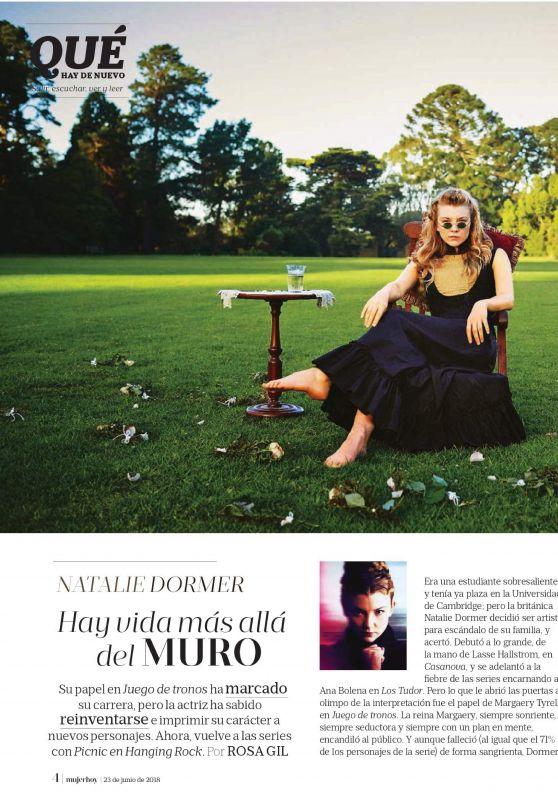 Natalie Dormer - Mujer Hoy Magazine 06/23/2018