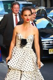 Natalie Portman - Arriving to the Stephen Colbert Show in NYC 06/14/2018