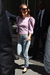 Natalie Portman - Leaving SiriusXM in NYC 06/15/2018