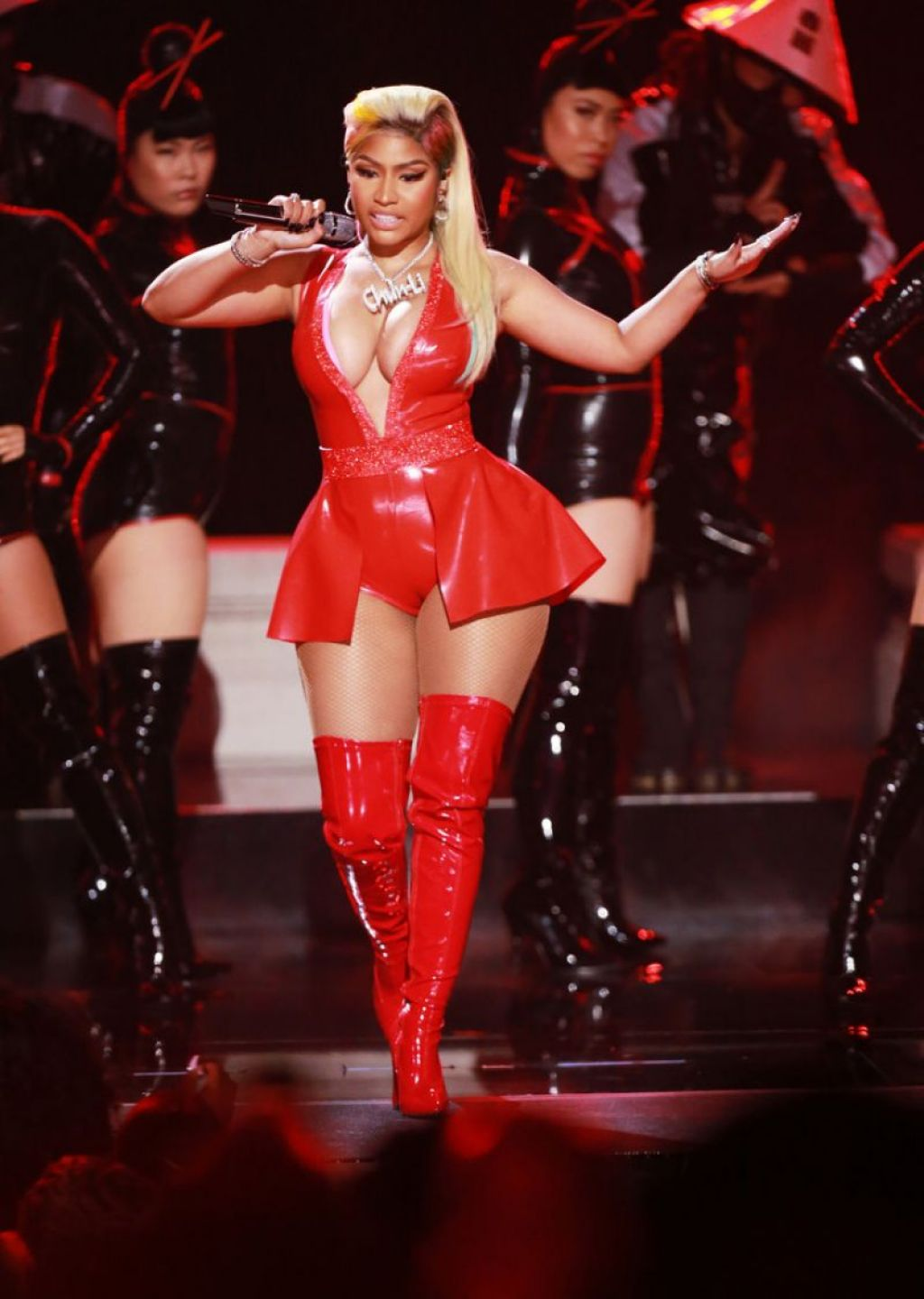nicki minaj performance on bet awards