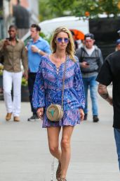 Nicky Hilton Summer Street Style - Out in NYC 06/15/2018