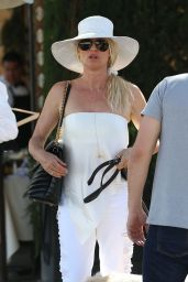 Nicollette Sheridan at Il Pastaio in Beverly Hills 06/27/2018