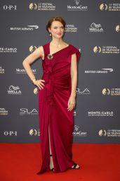 Odile Vuillemin – 2018 Monte Carlo TV Festival Opening Ceremony