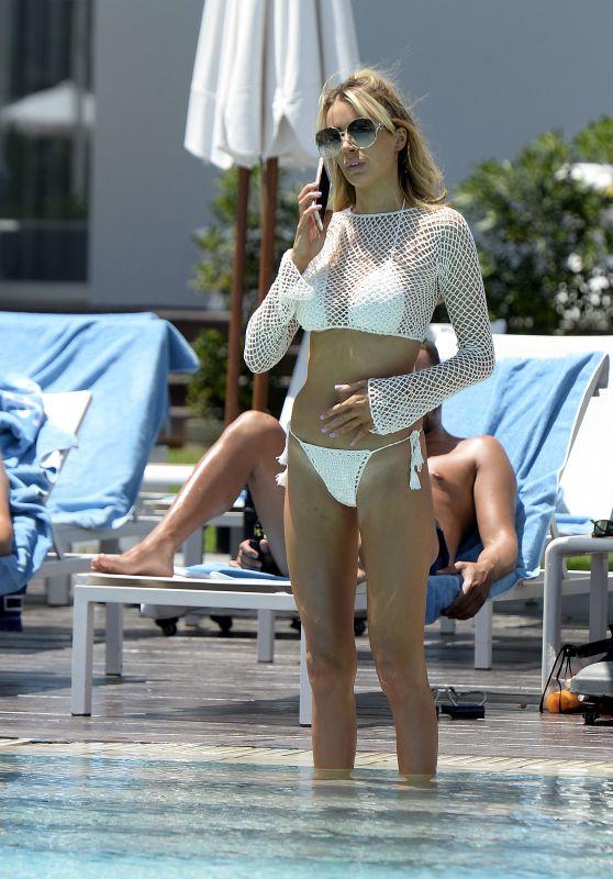 Olivia Attwood in Bikini - Sunning Herself in Majorca 06/27/2018