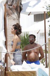 Olivia Culpo Candids - Photoshoot set in Ibiza 06/27/2018