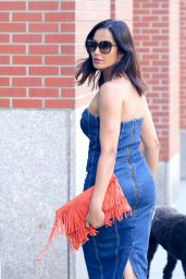 Padma Lakshmi Style and Fashion - SoHo in NYC 06/26/2018