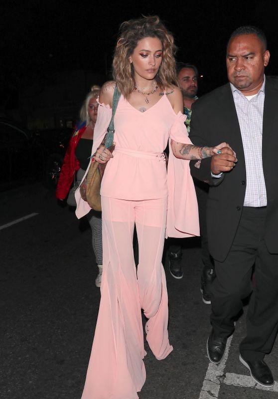 Paris Jackson - Delilah in West Hollywood 06/20/2018