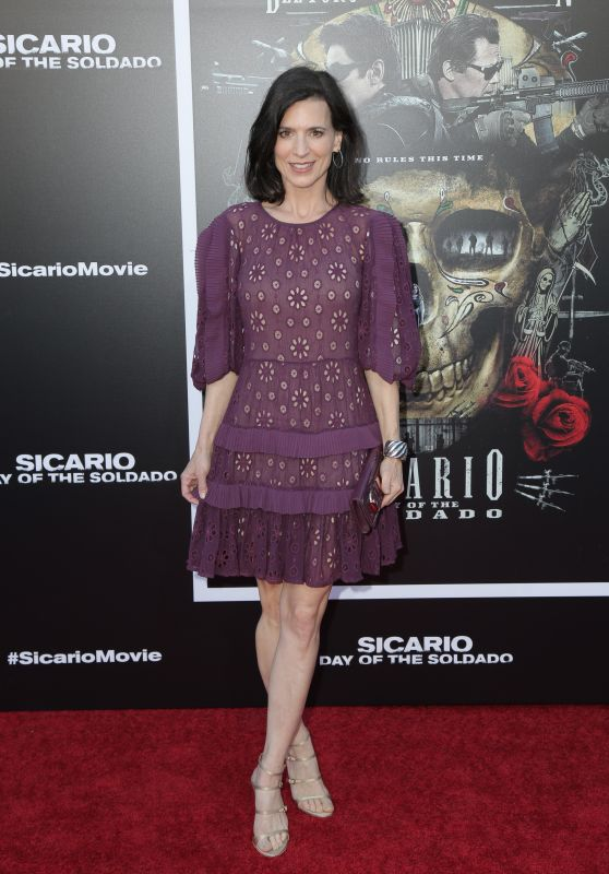"Perrey Reeves – ""Sicario: Day Of The Soldado"" Premiere in LA"