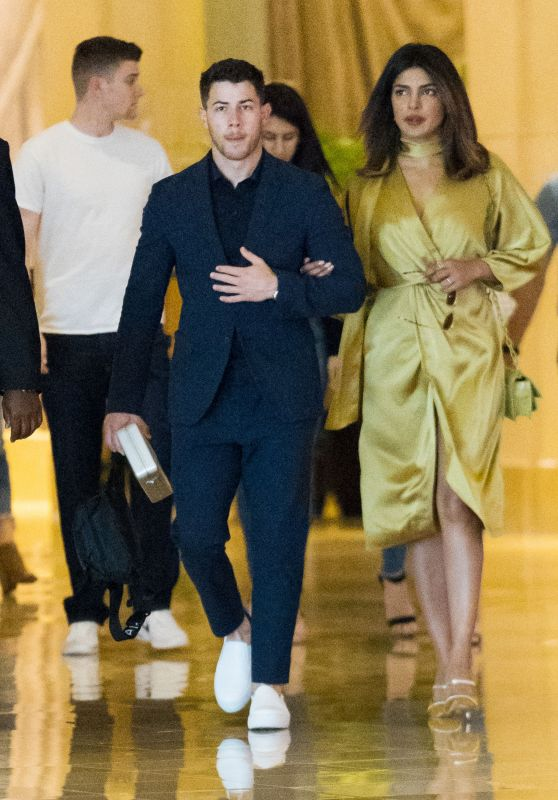 Priyanka Chopra and Nick Jonas at His Cousin Wedding in Atlantic City