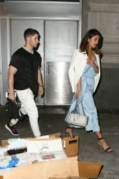 Priyanka Chopra and Nick Jonas - Leaving the Park Avenue Restaurant in NY 06/12/2018
