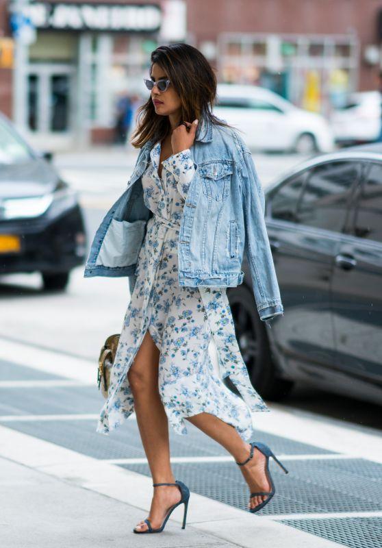Priyanka Chopra Casual Style - Out in New York City 06/10/2018