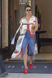 Priyanka Chopra Style - Heading Out to Forbes Women