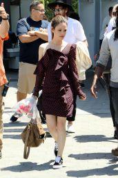 "Rachel Bilson - Getting Ready to Film for ""Extra"" in LA 06/18/2018"