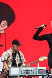 Raye – Performs at Capital FM Summertime Ball in London