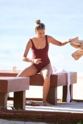 Renee Bargh in Swimsuit at the Gold Coast 06/14/2018
