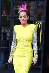 Rita Ora - Leaving the Bowery Hotel in NYC 06/12/2018