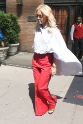 Rita Ora - Leaving the Bowery Hotel in NYC 06/19/2018