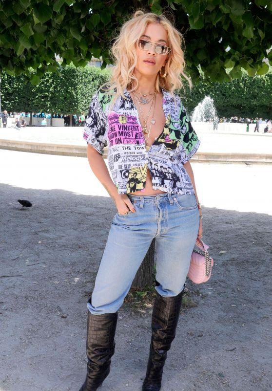 Rita Ora – Louis Vuitton Show – Spring Summer 2019 in Paris 06/21/2018