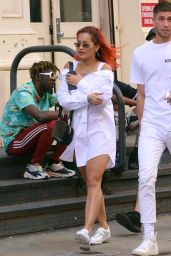 Rita Ora - Out in SoHo 06/14/2018