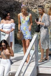 Romee Strijd - Out for Lunch at Amante Beach Club in Ibiza 06/29/2018