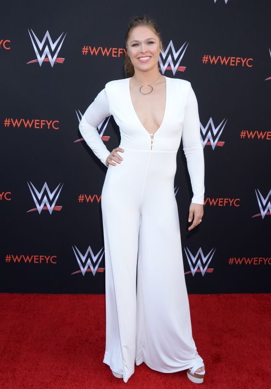 Ronda Rousey – WWE's First-Ever Emmy FYC Event in North Hollywood 06/06/2018