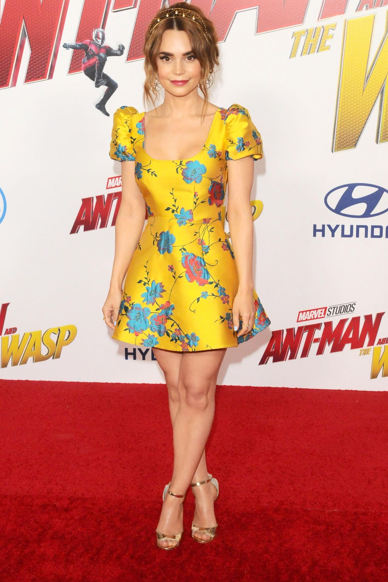 Rosanna Pansino Ant Man And The Wasp Premiere In La