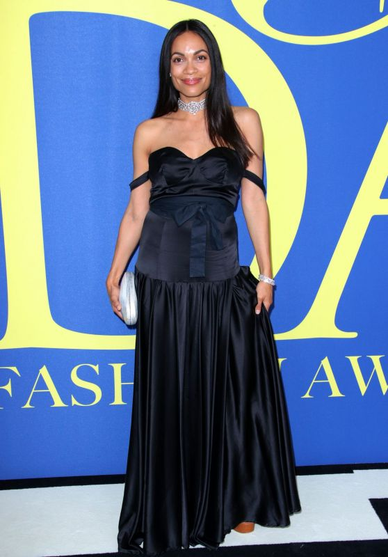 Rosario Dawson – 2018 CFDA Fashion Awards in NYC