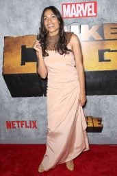 "Rosario Dawson – ""Luke Cage"" TV Series Premiere in New York"