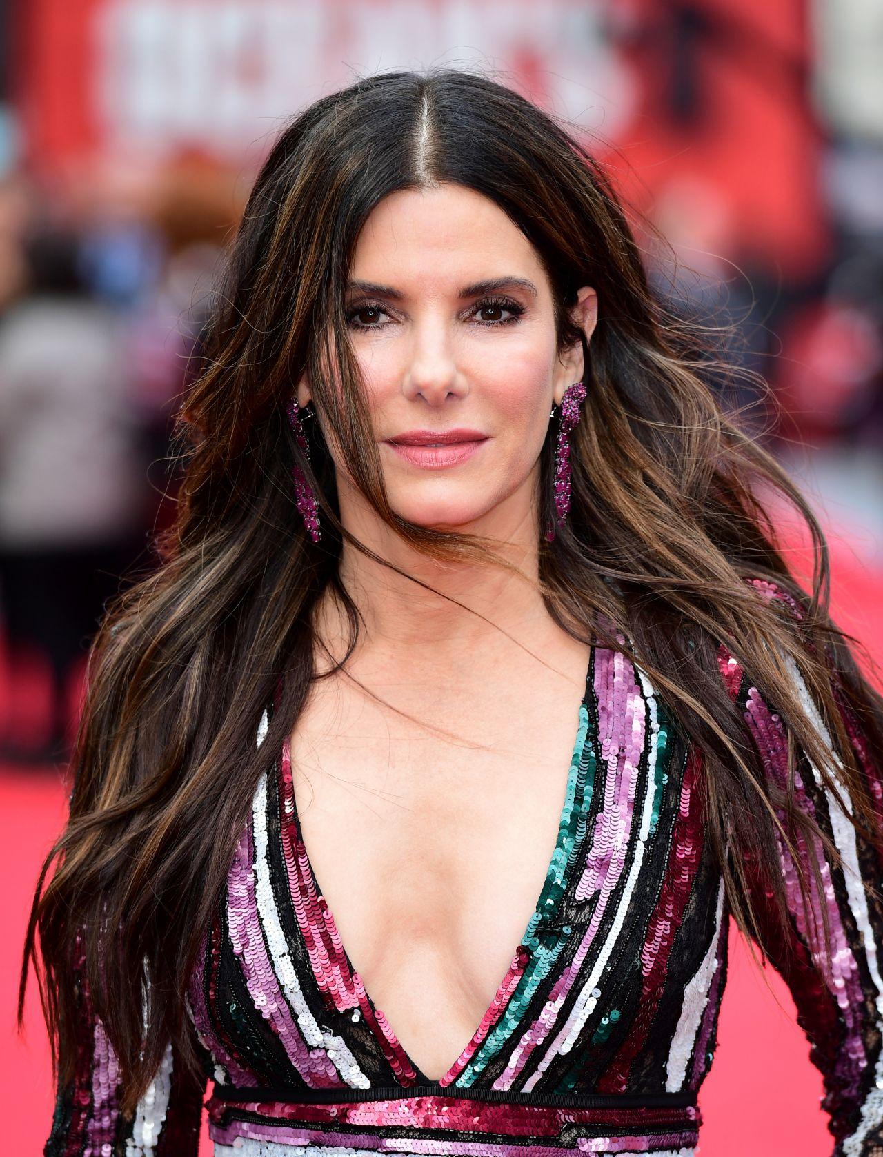 "Sandra Bullock – ""Ocean's 8"" Premiere in London Sandra Bullock"