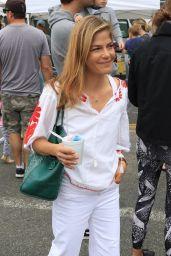 Selma Blair at the Farmers Market in LA 06/24/2018