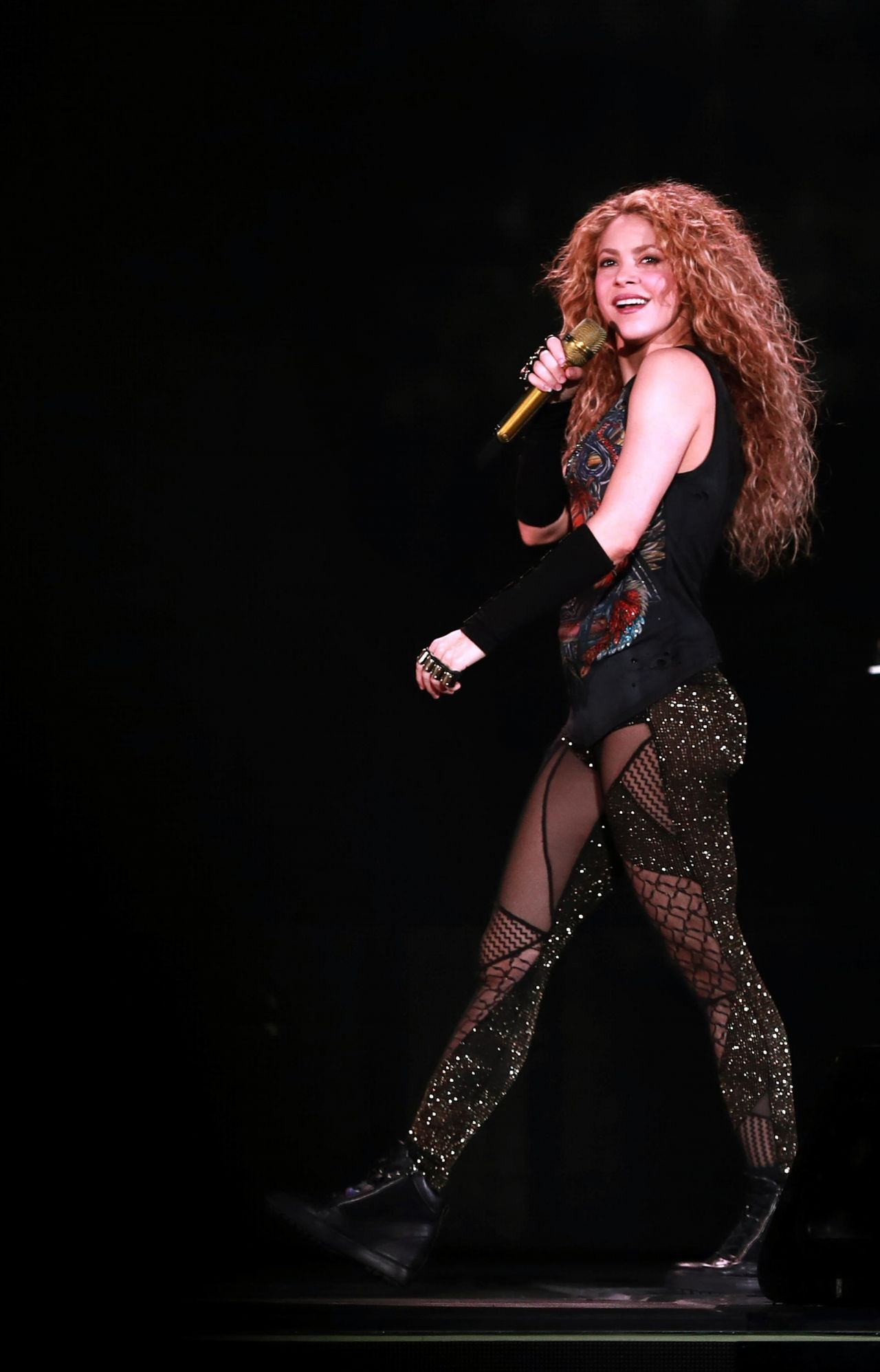 Shakira El Dorado Tour In Bordeaux 06 24 2018