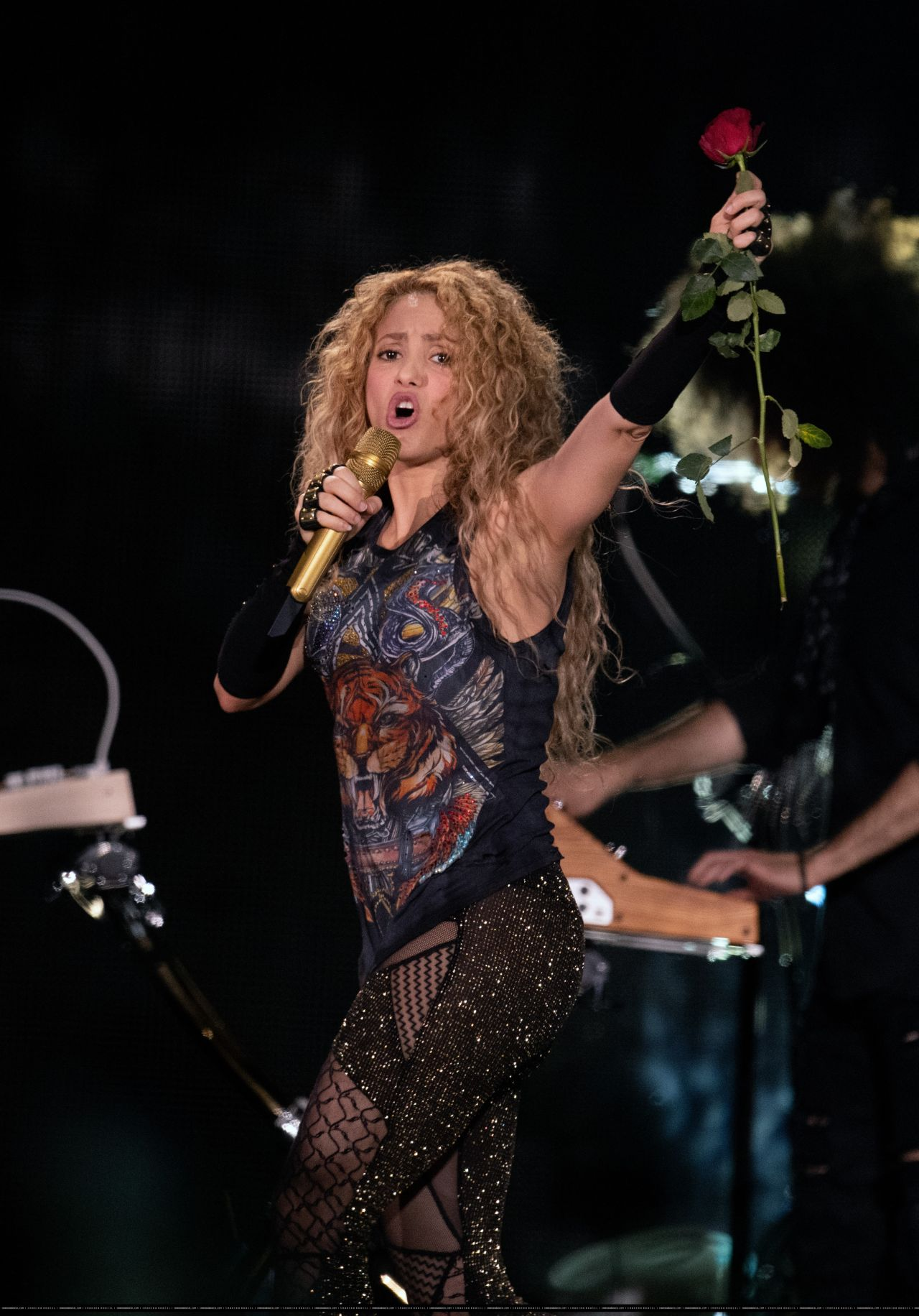 Shakira Performs Live In Hamburg 06 03 2018