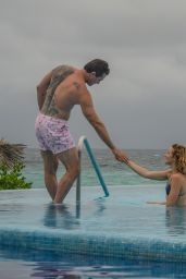 Shantel VanSanten With Her Boyfriend Victor Webster in Mexico, June 2018