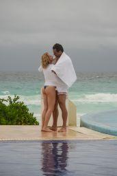 Shantel VanSanten With Her Boyfriend Victor Webster in Mexico, June 2018
