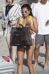 Shay Mitchell in Bikini - Enjoys a Boat Trip to Formentera 06/26/2018