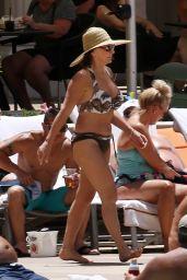 Shirley Ballas in Bikini in Las Vegas 06/16/2018