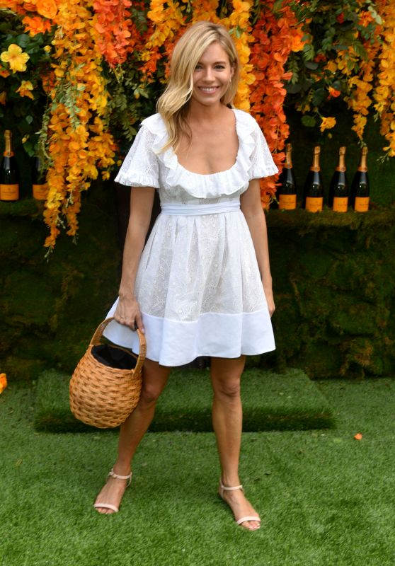 Sienna Miller – 2018 Veuve Clicquot Polo Classic in New Jersey