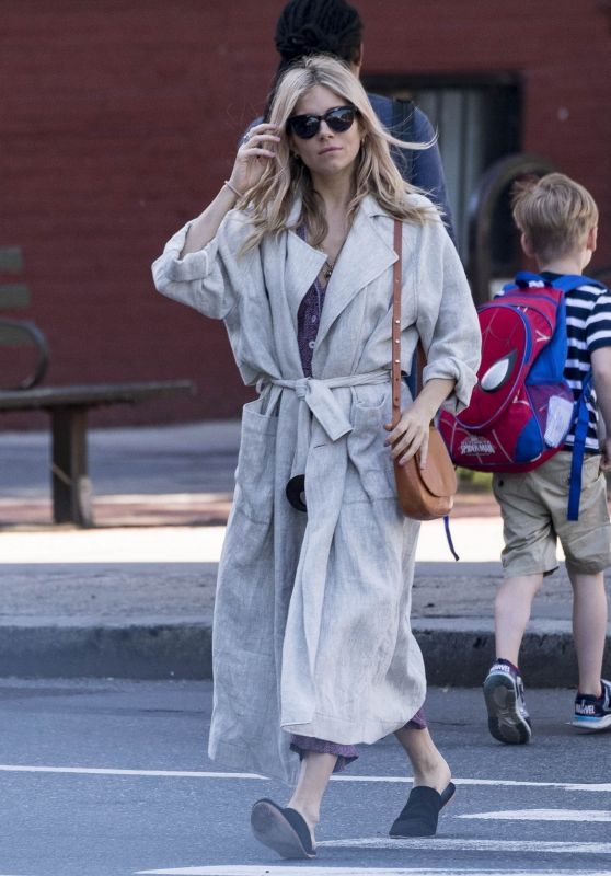 Sienna Miller - Out in New York 06/05/2018