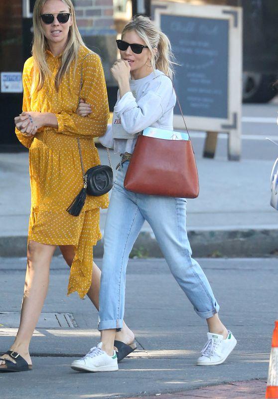 Sienna Miller - Running Errands in the New York City 06/12/2018