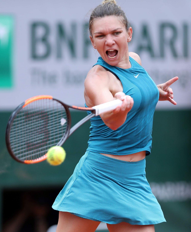 Simona Halep - French Open Tennis Tournament 2018 in Paris ...  |Simona Halep