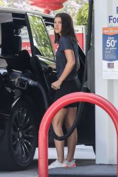Sofia Richie at a Gas station in LA 06/20/2018