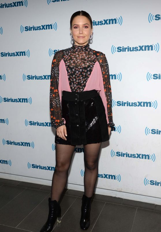 Sophia Bush - Radio Andy with Andy Cohen on SiriusXM in NYC 06/13/2018