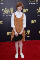 Sophia Lillis – 2018 MTV Movie And TV Awards in Santa Monica