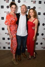 "Sophie Cookson - ""Killer Joe"" Press Night in London 06/04/2018"