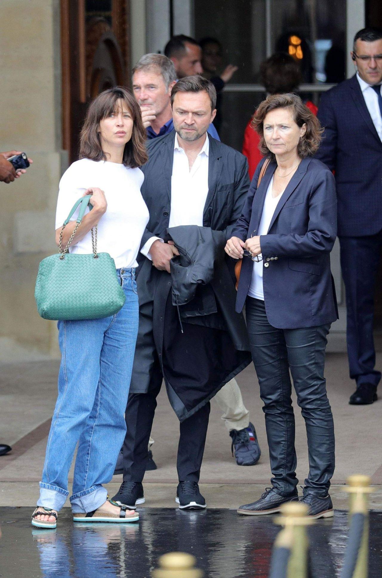 Sophie Marceau Leaving The Crillon Hotel In Paris 06 11 2018
