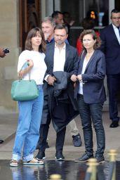 Sophie Marceau - Leaving the Crillon Hotel in Paris 06/11/2018