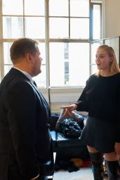 """Sophie Turner - Visits """"The Late Late Show with James Corden"""" in London, June 2018"""